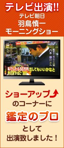 テレビ朝日羽鳥慎一モーニングショーにTV出演